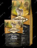 """Корм для взрослых собак крупных пород с лососем и индейкой """"Salmon&Turkey For Large Breed Adult"""""""