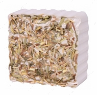 Минерал для грызунов с овощами Gnawing Stone with Meadow Grass