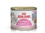 Влажный корм для котят до 4х месяцев и беременных и кормящих кошек Babycat wet in mousse