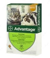 Адвантейж - средство от блох для кошек до 4 кг ADVANTAGE Cat