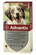 Адвантикс средство от блох и клещей для собак 10-25 кг ADVANTIX