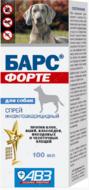 """""""БАРС ФОРТЕ"""" спрей инсектоакарицидный для собак"""