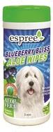 Влажные салфетки с алоэ вера и экстрактом черники Blueberry Bliss Wipes