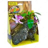 Orchid with Rock - искусственное декоративное растение