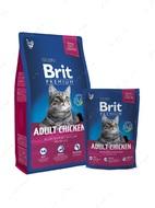 Сухой корм для взрослых кошек с курицей Cat Adult Chicken