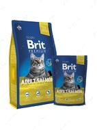 Сухой корм для взрослых кошек с лососем Cat Adult Salmon