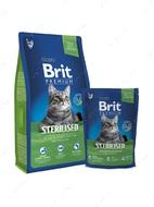 Сухой корм с курицей для стерилизованных кошек Cat Adult Sterilised