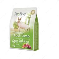 Сухой корм для котов для выведения шерсти из организма Cat Indoor Adult Lamb