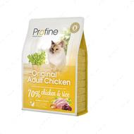 Корм для котов и кошек всех пород c курицей и рисом Cat Original Adult Chicken and Rice