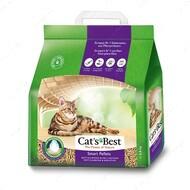 Комкующийся древесный наполнитель Cats Best SMART Pellets
