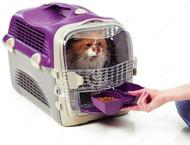 Переноска для кошек и миниатюрных собак Catit Cabrio Cat Carrier IATA