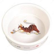 CERAMIC BOWL - керамическая миска для кошек - 200 мл