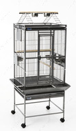 ХАМИЛЬТОН (Hamilton Playpen) вольер для попугаев, поддон темно-серый | 60Х55Х158 см.