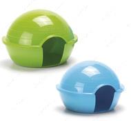 ХАМСТЕР ИГЛО (Hamster Iglo) домик для хомяков, пластик - 15,5Х12Х11 см.