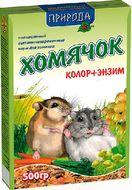 Корм для мелких грызунов Хомячок колор + энзим