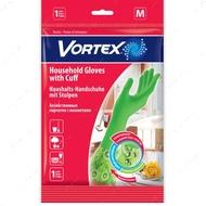 Хозяйственные перчатки с удлиненными манжетами