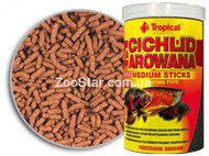 Cichlid & Arowana Medium Sticks  - корм для арован и средних цихлид