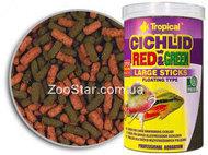 Cichlid Red&Green Large Sticks - корм для крупных всеядных цихлид