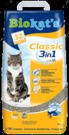 """""""Classic 3in1"""" Комкующийся наполнитель для кошачьего туалета"""