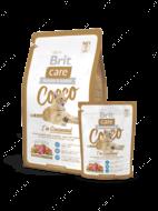 """""""Cocco I am Gourmand"""" Коко сухой корм для привередливых кошек с мясом утки и лосося"""