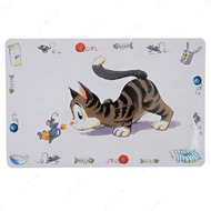 COMIC CAT - коврик под миску для кошек