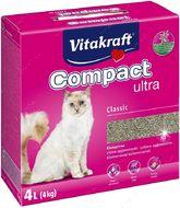 Комкующийся наполнитель для кошачьего туалета Vitakraft Compact Ultra