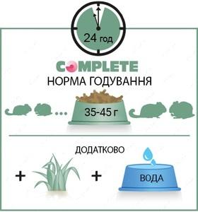 Гранулированный корм для шиншилл и дегу ШИНШИЛЛА ДЕГУ Versele-Laga Complete Chinchilla & Degu