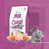 Сухой корм для котят от 1 до 12 месяцев Crazy Kitten