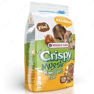 Зерновая смесь корм для хомяков, крыс, мышей, песчанок КРИСПИ МЮСЛИ ХОМЯК Crispy Muesli Hamster