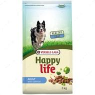 Cухой корм для собак всех пород с лососем Happy Life Adult with Salmon