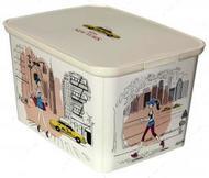"""Декоративная коробка """"AMSTERDAM"""", размер L Нью-Йорк"""