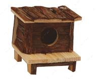 Деревянный дом Мини куб для грызуна CROCI