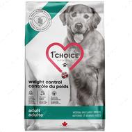 Диетический корм для собак с избыточным весом, средних и крупных пород 1st Choice Adult Weight Control Medium and Large