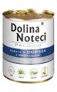 Консервы для собак с треской и брокколи DOLINA NOTECI PREMIUM