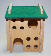 Домик деревянный для грызунов