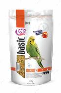 Полнорационный корм для волнистых попугаев фруктовый LoLo Pets basic for BUDGIE