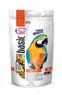 Полнорационный корм для крупных попугаев LoLo Pets basic for PARROTS