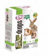 Дропсы овощные для грызунов LoLo Pets drops