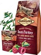 Сухой корм для котов крупных пород с мясом утки и индейки Duck & Turkey for Large Breed Cats