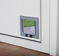 Дверца врезная для кошек Luxe 4-Way Cat Flap