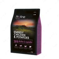 Сухой корм для активных собак с курицей и картофелем ENERGY CHICKEN & POTATOES