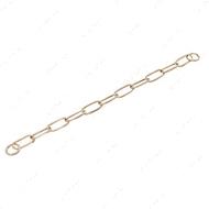 Extra Long Link широкое звено ошейник для собак, 4 мм, куроган сталь