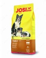 Сухой корм Йозера для щенков,беременных и кормящих собак JosiiDog Family