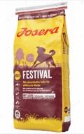 Сухой корм для собак всех пород с лососем и птицей Josera Festival