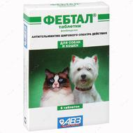 """""""Фебтал"""" - антигельминтный препарат для собак и кошек"""