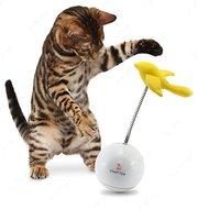 """""""FroliCat Chatter"""" ФРОЛИКЕТ ПТИЧКА интерактивная игрушка-неваляшка для кошек"""