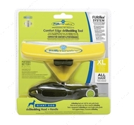 Фурминатор инструмент против линьки, для собак FURflex Comfort Edge deShedding Head & Handle