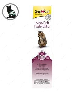 Паста для кошек для выведения шерсти Malt Soft Extra