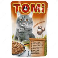 Консервы  для кошек с мясом гуся и печенью TOMi goose liver