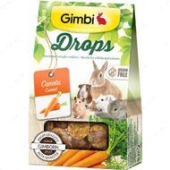 Лакомство для грызунов дропсы с морковью Drops